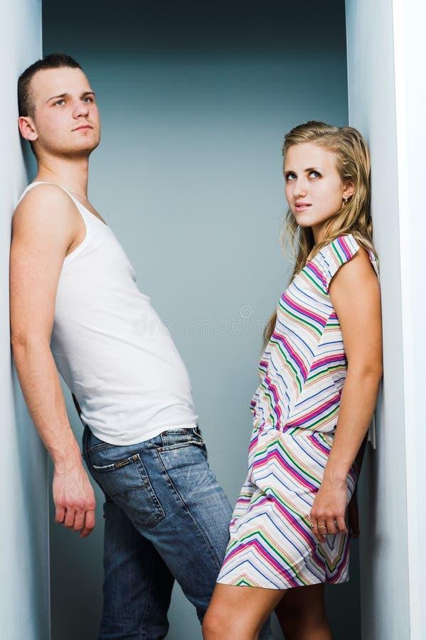 有吸引力的夫妇 图库摄影