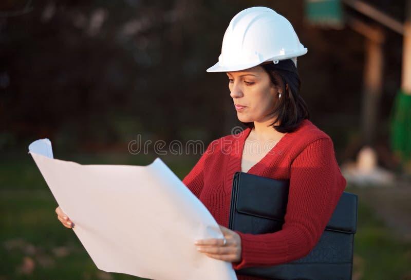 有吸引力的工程师人员年轻人 免版税库存图片