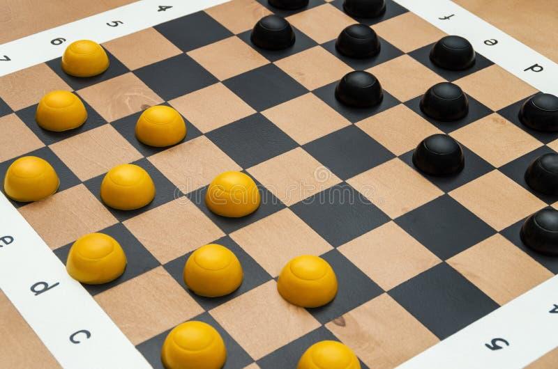 有图的棋枰 免版税图库摄影