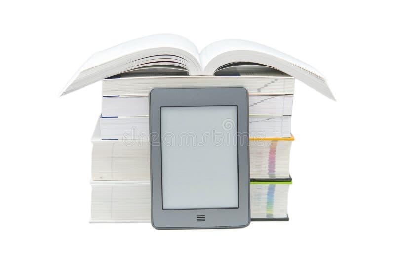 E -book读者 库存图片
