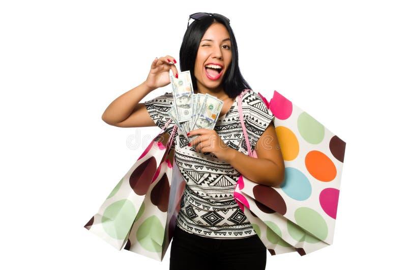Download 有在白色隔绝的购物袋的妇女 库存照片. 图片 包括有 礼品, 藏品, 巴哈马群岛的, beauvoir, 喜悦 - 72365668
