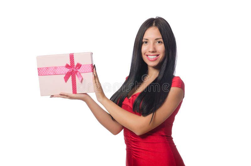 Download 有在白色隔绝的giftboxes的妇女 库存照片. 图片 包括有 幸福, 豪华, 棚车, 圣诞节, 庆祝 - 72359292