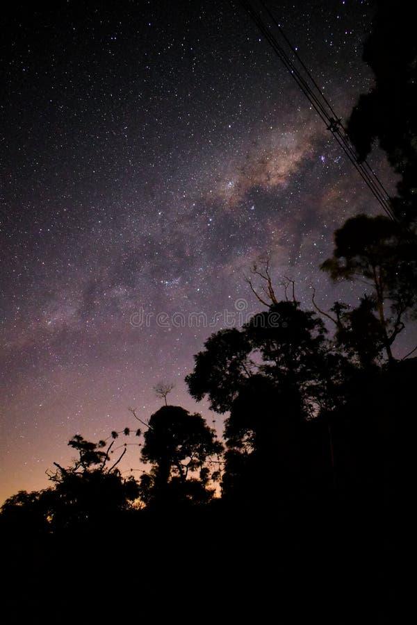 有在途中的星系 库存照片