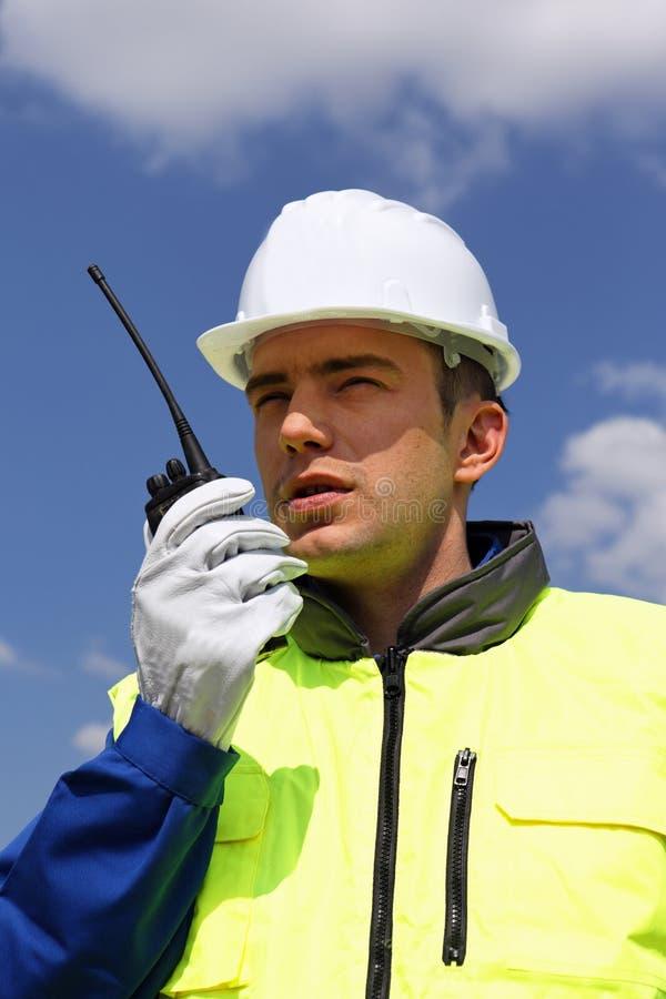 有声电影walkie 库存图片