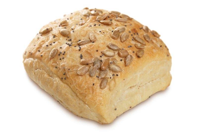 有壳的面包 库存照片