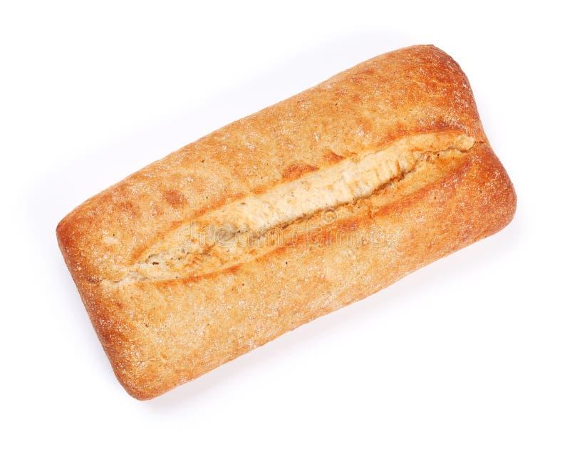 有壳的ciabatta面包大面包  免版税库存照片