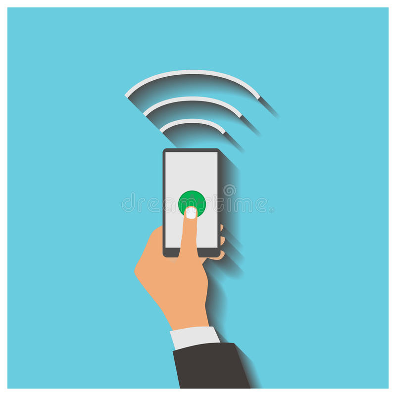 Download 有处理的智能手机机动性 向量例证. 插画 包括有 图标, 接触, 赊帐, 看板卡, 按钮, 电话, 购物 - 59101284