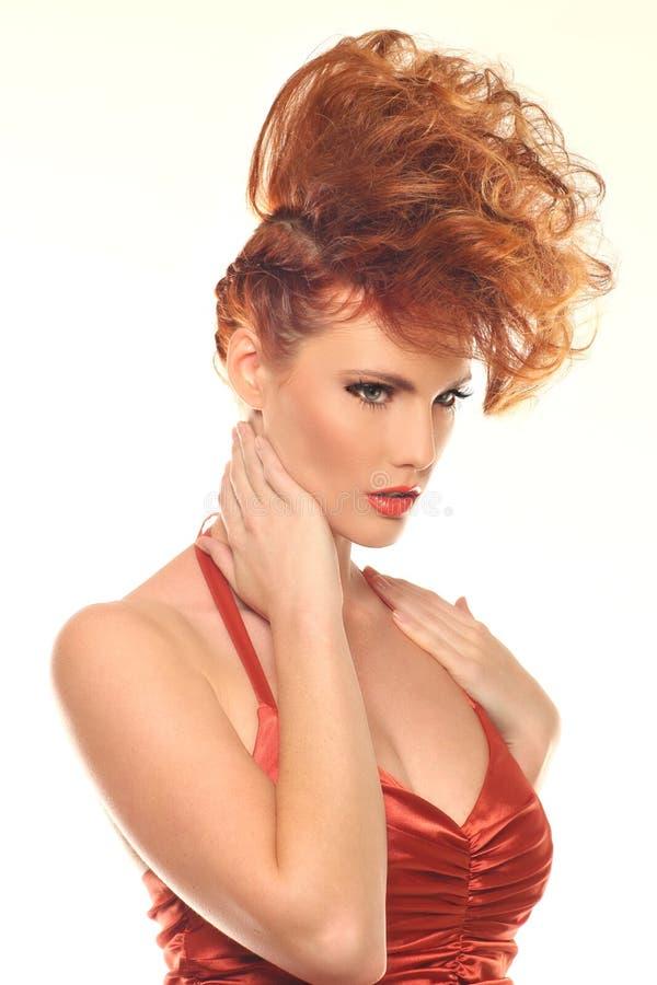 Download 有大发型的时尚妇女 库存照片. 图片 包括有 空白, 时髦, beautifuler, beauvoir - 30329226