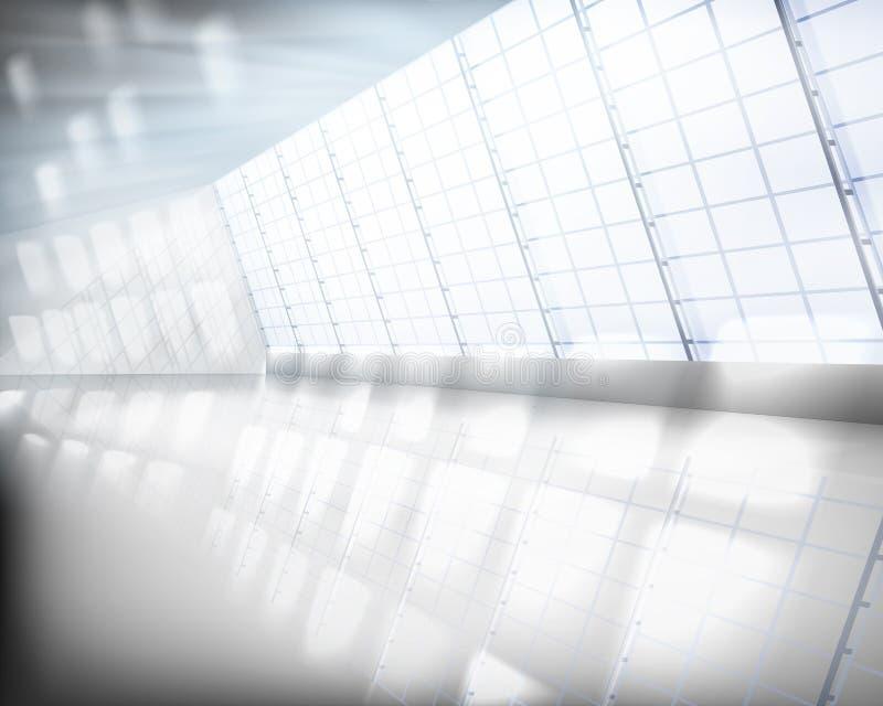 有大窗口的霍尔 也corel凹道例证向量 向量例证