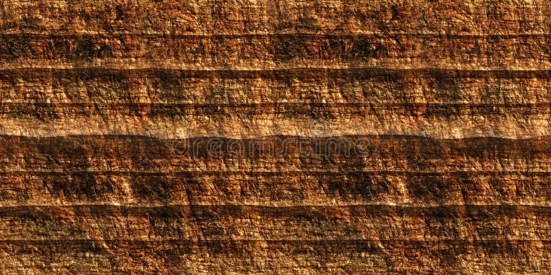 有层次的峡谷无缝的纹理 皇族释放例证