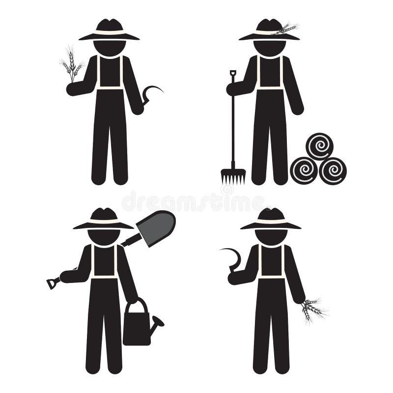 农夫的工具_有工具的农夫人,设置了传染媒介