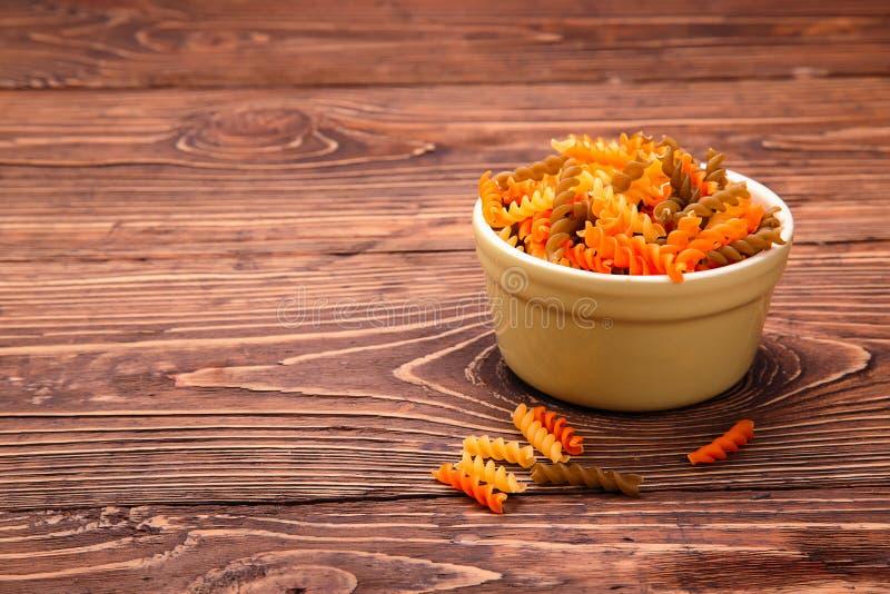 有意大利面食的碗 图库摄影