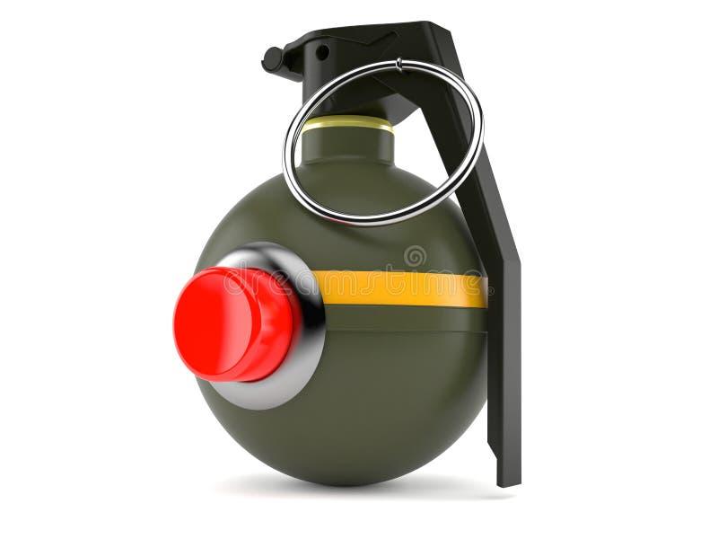 有按钮的手榴弹 皇族释放例证