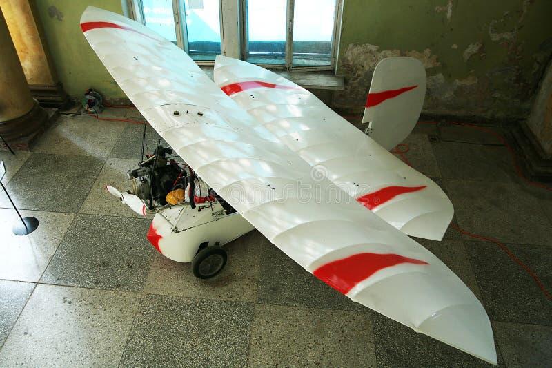 有推进器的飞机 图库摄影