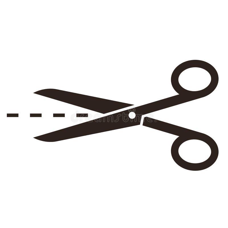 有插队的剪刀 库存图片