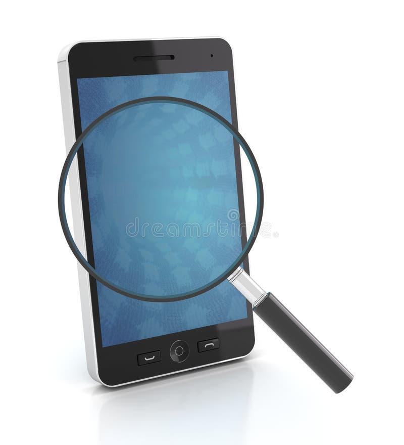 有放大镜的, 3d智能手机回报