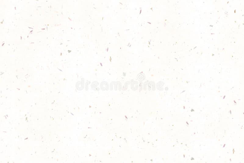 有斑点的五彩纸屑纸背景。 免版税库存照片