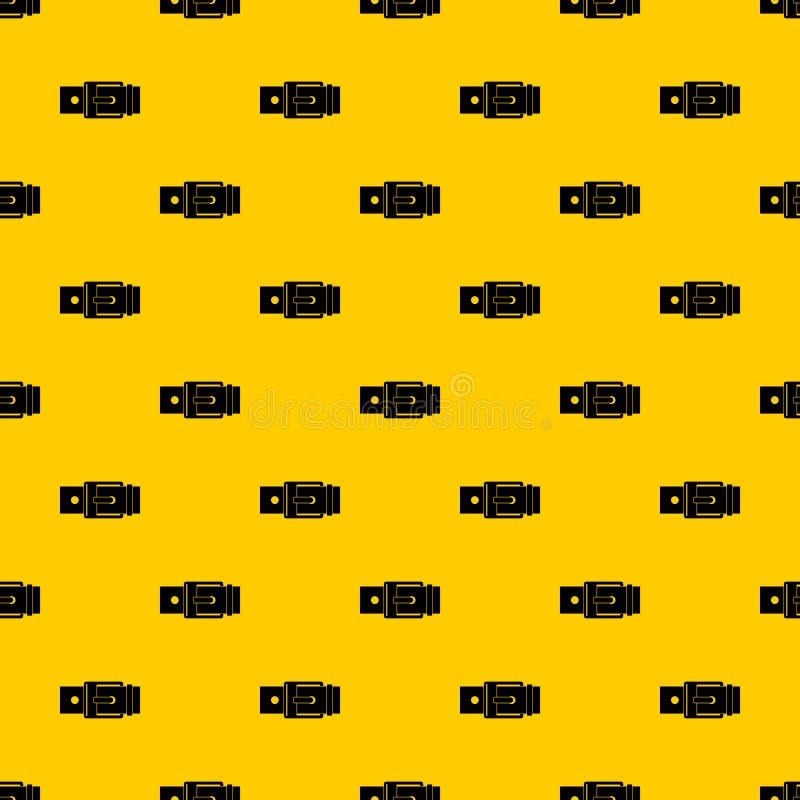 有方形的扣样式传染媒介的传送带 皇族释放例证