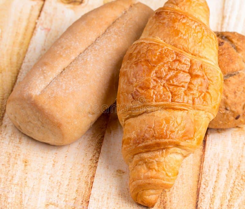 有机劳斯代表粮食和面包 库存照片