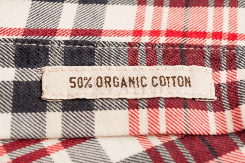 有机棉纺织品 库存图片