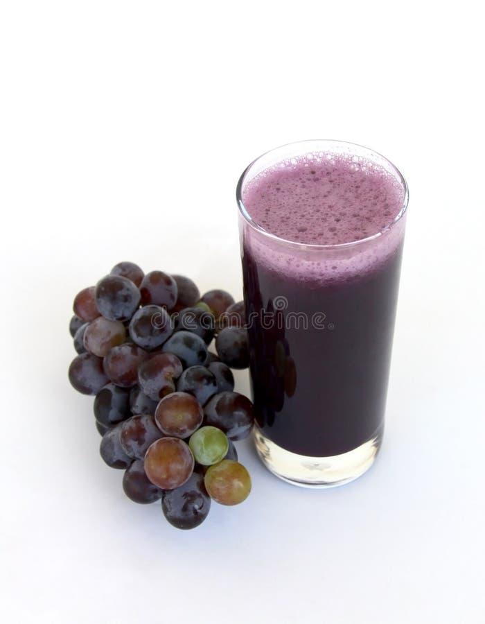 有机的葡萄汁 库存图片