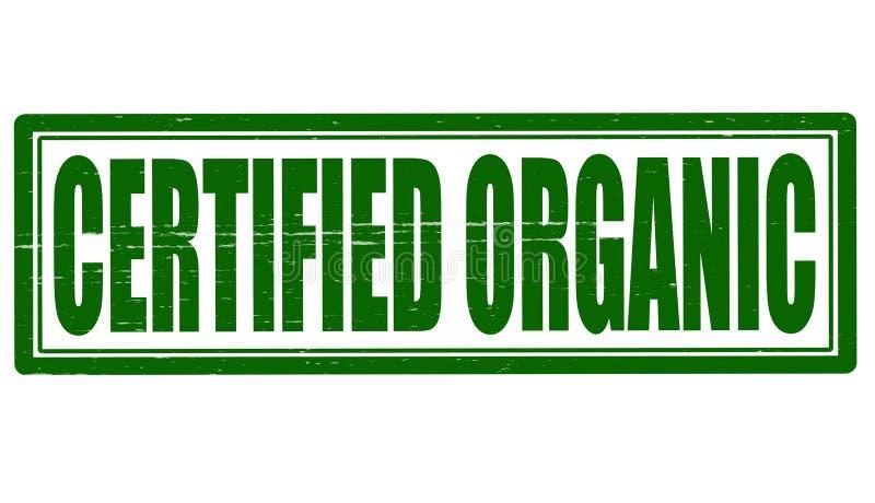 有机的Certifeid 免版税图库摄影