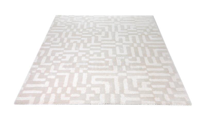 有样式的轻的地毯 免版税库存图片