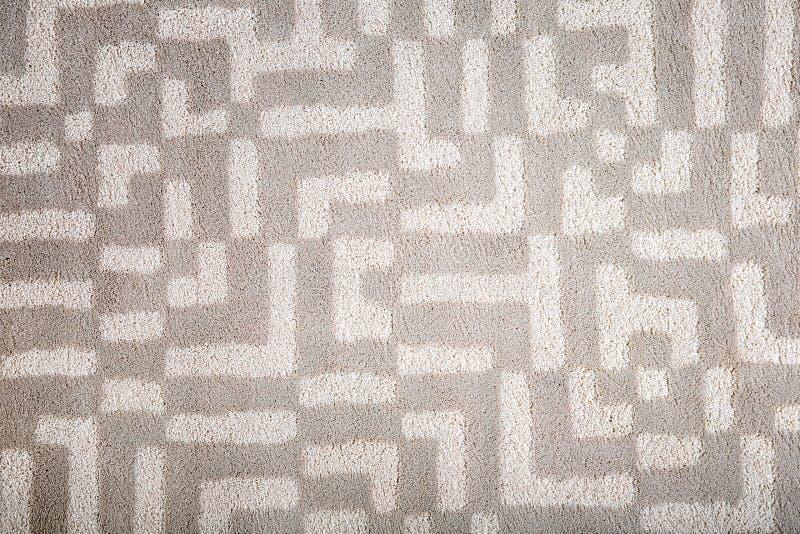 有样式的轻的地毯 库存图片
