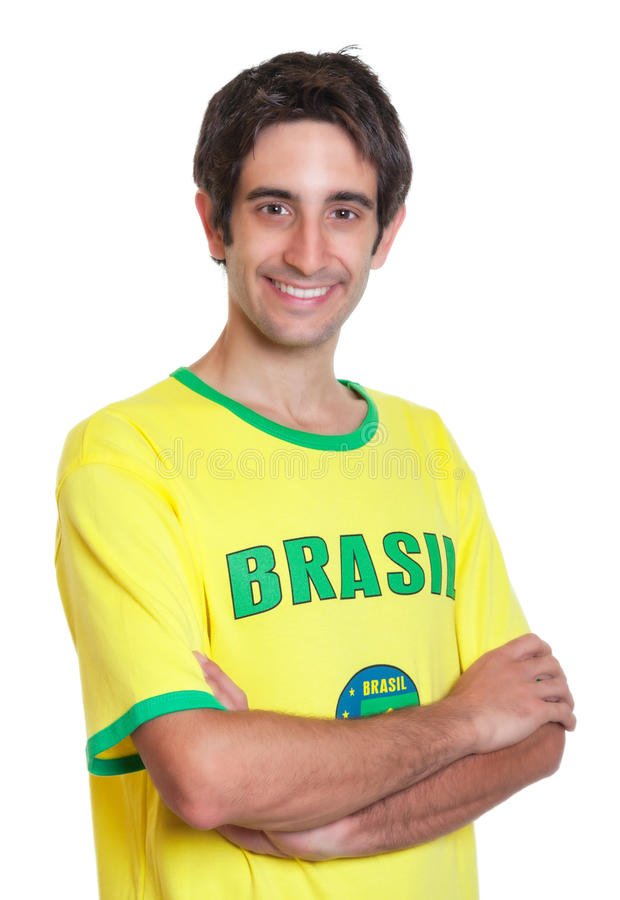 Download 有横渡的胳膊和短小黑发的巴西人 库存照片. 图片 包括有 拉丁美洲人, 庆祝, 火箭筒, 球员, 橄榄球 - 59111458