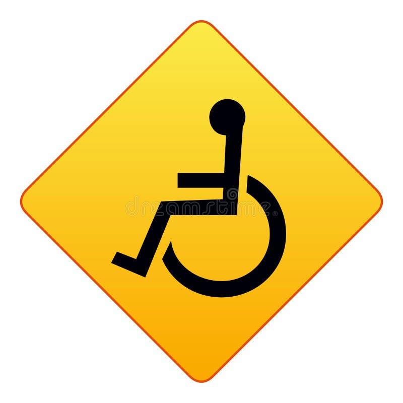 有残障的符号 向量例证