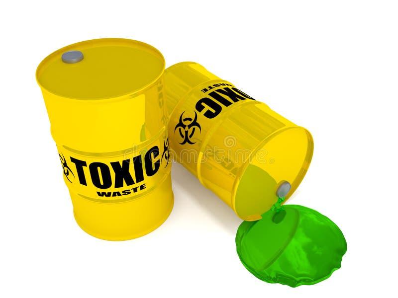 有毒废料 免版税库存图片