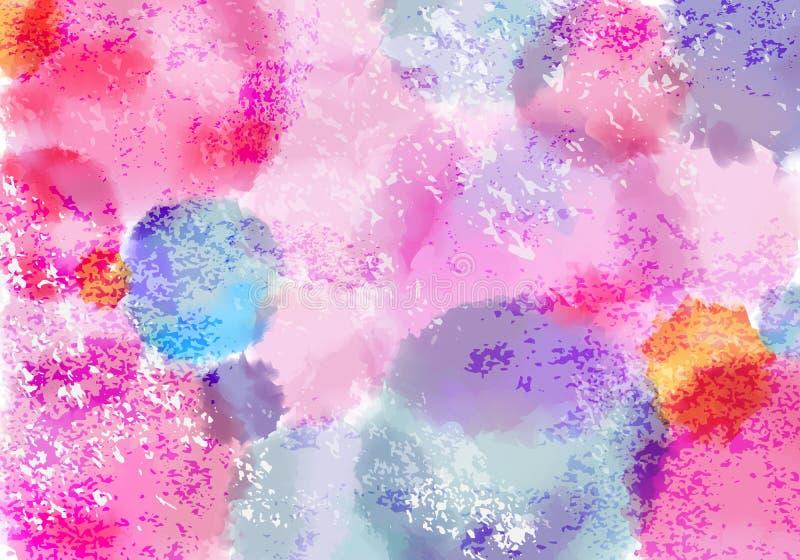 色色资源阁_有水彩油漆的聪慧的淡色色的bg飞溅 传染媒介难看的东西油漆背景.