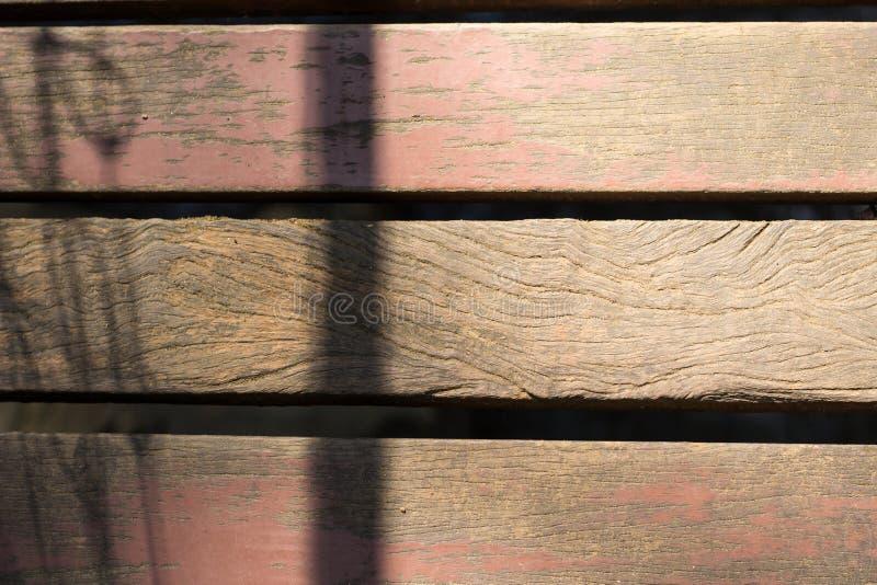 有污点的老木板 免版税库存图片