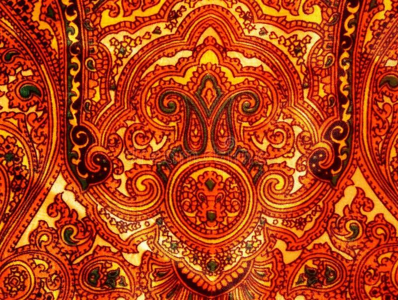 有泰国样式的尼龙围巾 库存照片