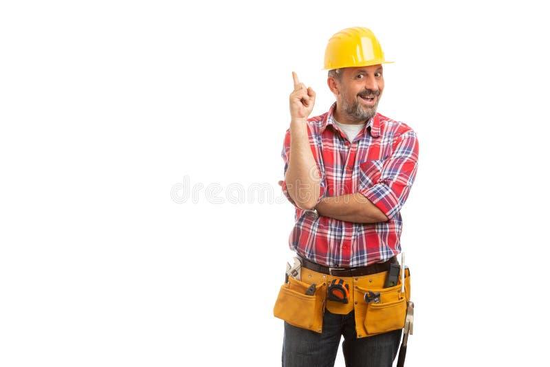 有的建设者好主意 免版税库存照片