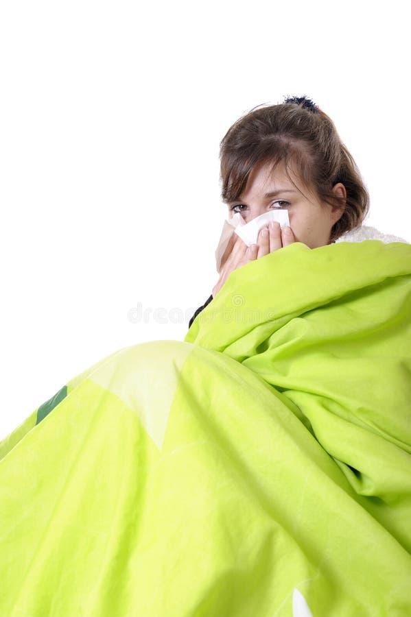 有的流感 免版税库存图片