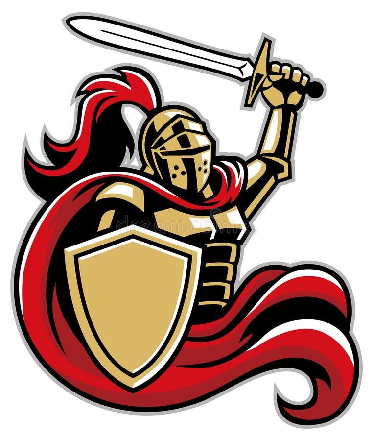 有盾和剑的骑士