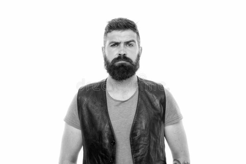 有胡子残酷人的行家 t 理发店和胡子修饰 称呼胡子和髭 ?? 免版税库存照片