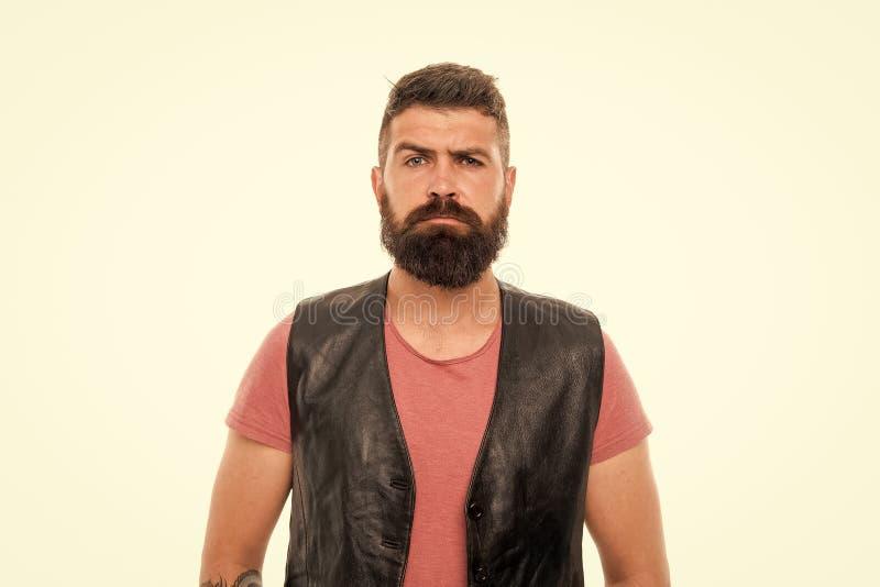 有胡子残酷人的行家 t 理发店和胡子修饰 称呼胡子和髭 ?? 免版税图库摄影