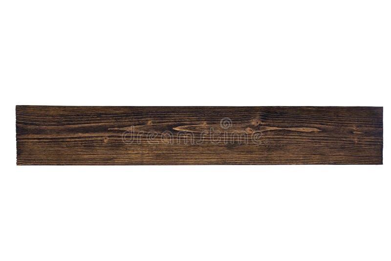 有自然条纹图形的黑褐色木板backgro的 免版税图库摄影