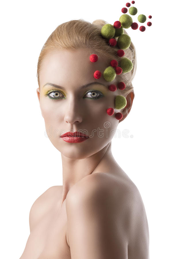 Download 有色的分子的女孩在面孔 库存照片. 图片 包括有 放血, 改良, 气球, 发型, 逗人喜爱, beauvoir - 30326224