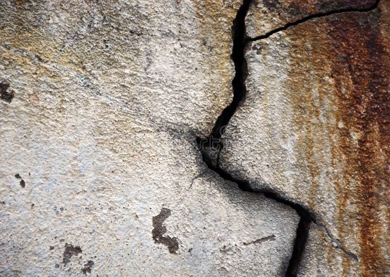 有裂痕的墙壁 免版税图库摄影