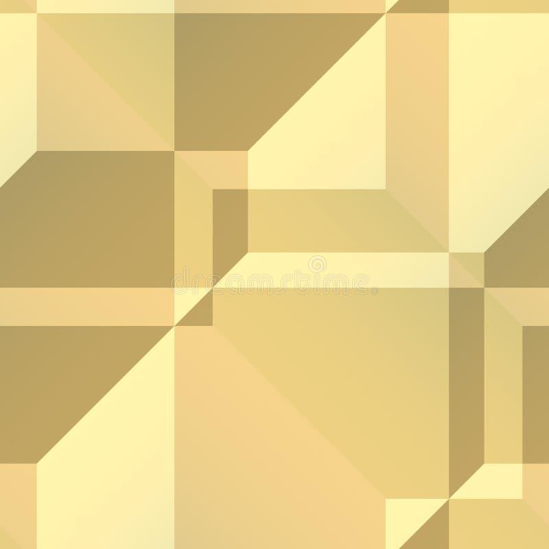 有角几何形状 向量例证