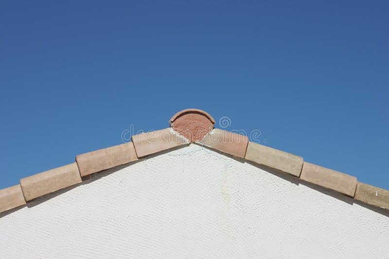 有角度的roofline 库存图片