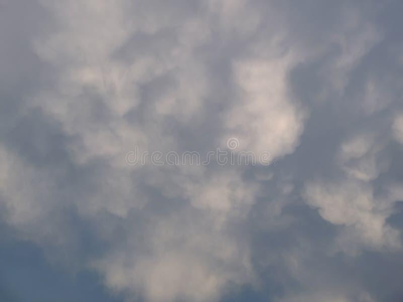 有趣的剧烈风暴云适合背景 库存图片