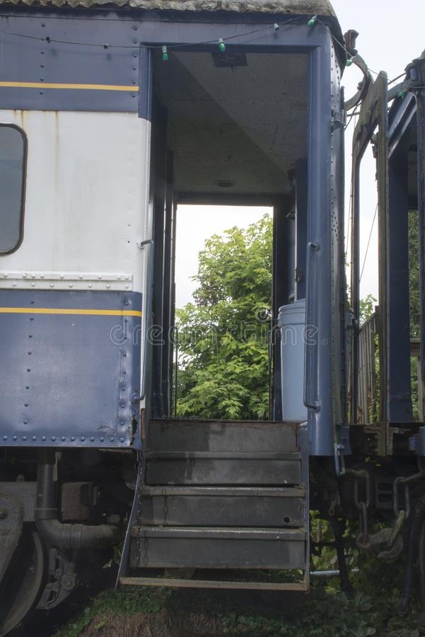 有轨电车入口 免版税图库摄影