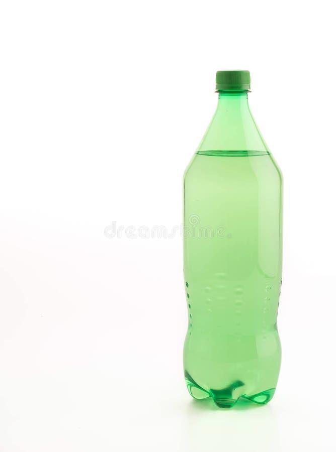有软饮料的瓶 免版税库存图片