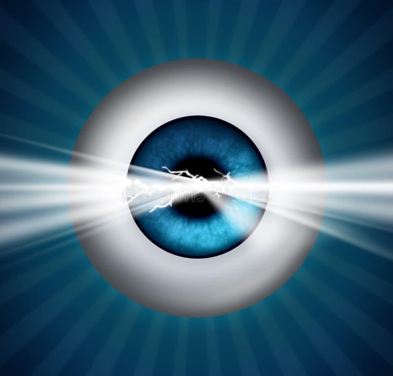 有远见者和远见 向量例证