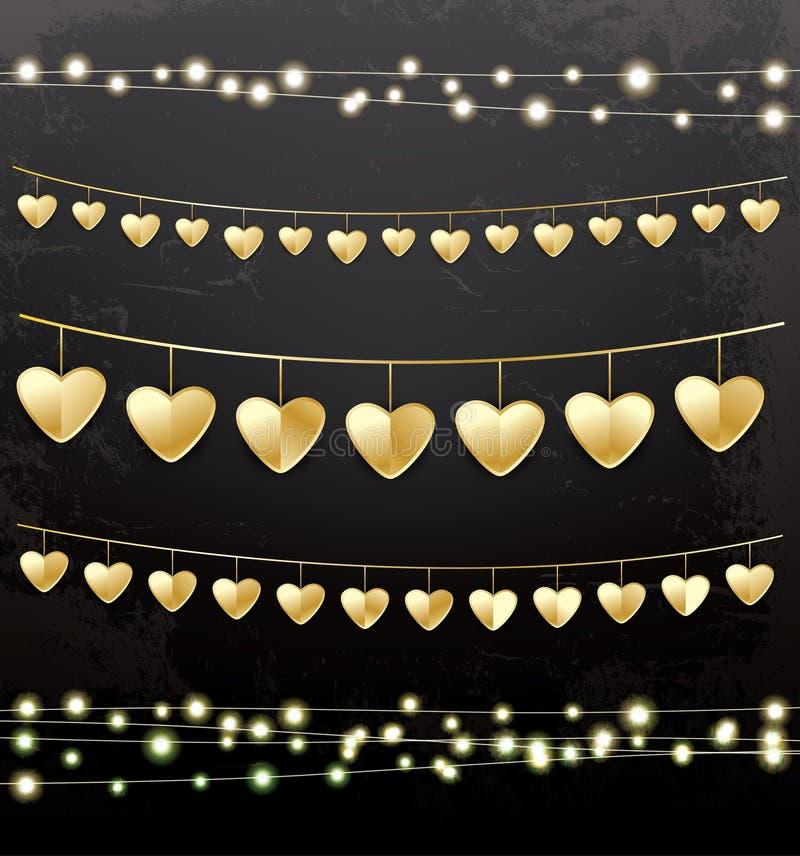 有金黄心脏的诗歌选 皇族释放例证