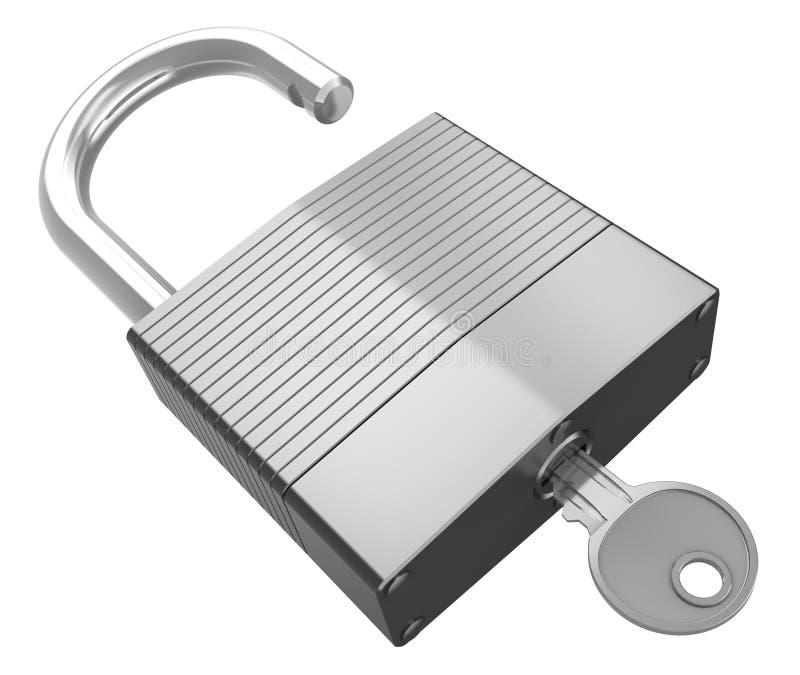 Download 有钥匙的被隔绝的锁 库存例证. 插画 包括有 查出, 商业, 证券, 对象, 剪报, 关键字, 想法, 事故 - 30329982